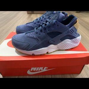 Nike Huarache Sneakers Navy/white